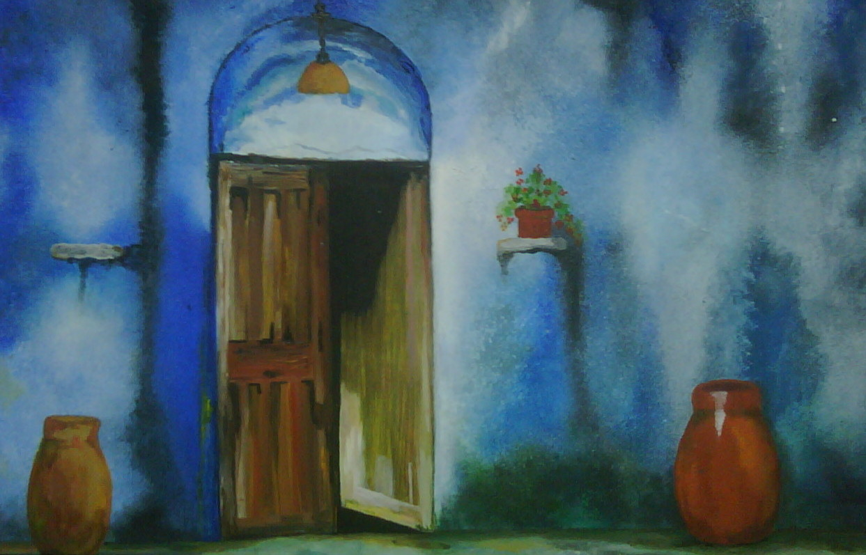 open door painting. Open Door Painting